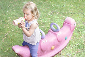 Nuk Junior Cup 300 Ml With Push-Pull Nozzle. Leak-Proof With Clip, From 36 Months, Bpa-Free.
