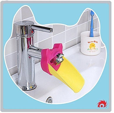 Faucet Extender: (Fuchsia) Kids Sink Extender For Children, Babies, And Toddlers- Baby Bathroom Accessory- Make Hand Washing Fun And Easy- Bpa And Pvc Free