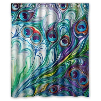Shower Curtain 60  X 72  ,Tuscom Custom Fabric Waterproof Bathroom Shower Curtain (Styleb)