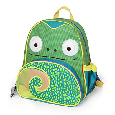 Skip Hop Toddler Backpack, 12  Chameleon School Bag, Multi