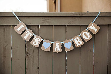 It'S A Boy  Banner - Baby Shower Decorations (Boy)