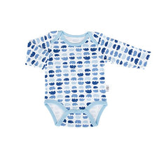 Load image into Gallery viewer, Tadpoles Set Of Two Bodysuits, Hippo / Blue, 0-6 Months