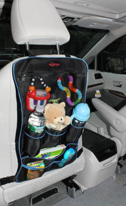 Swirts Premium Car Backseat Organizer, Black