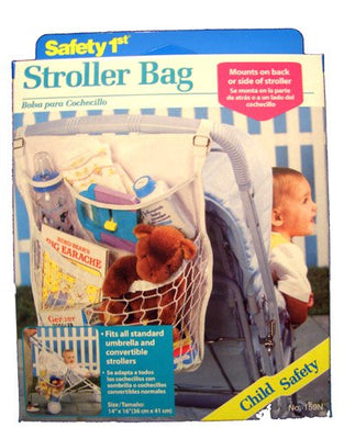 Safety First Stroller Net Tote Bag
