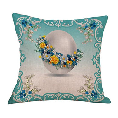 Pillow Case,Topunder Easter Sofa Bed Home Decoration Festival Cushion Cover (I)