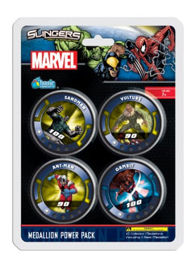 Upper Deck Marvel Slingers Medallion Blister Pack