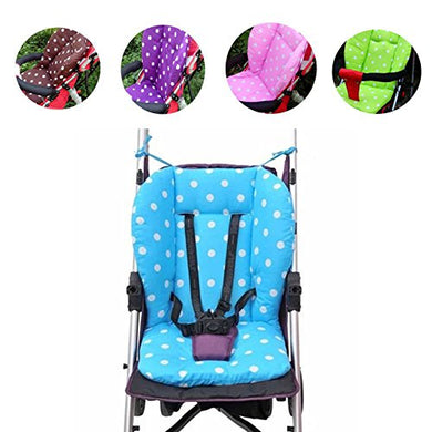 Vktech Baby Infant Stroller Seat Pushchair Cushion Mat Cushion Cover (Blue)