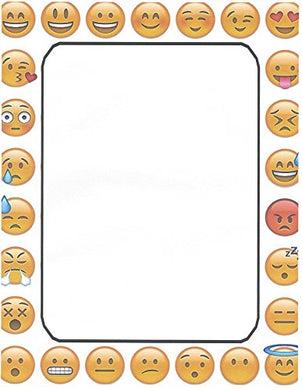 Emoji Stationery Printer Paper 26 Sheets