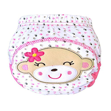 Gilroy Baby Cotton Animal Cartoon Training Pants Nappies Cloth Diaper (M, Monkey)