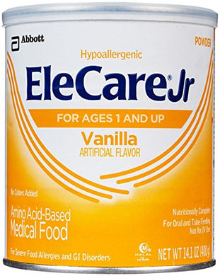 Elecare Jr Toddler Formula-Vanilla-Powder-14.1 Oz