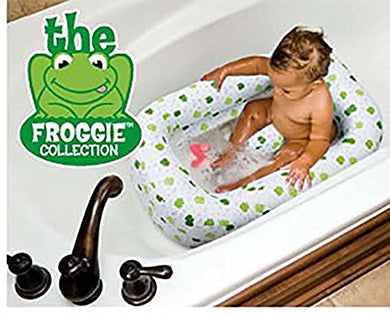 Mommy'S Helper Froggie Inflatable Tub W/Saddle Horn 12309