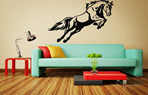 Wall Vinyl Sticker Decals Mural Room Design Pattern Art Decor Beauty Horse Animal Tail Nursery Bedroom Nature Mi1089