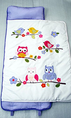 Soho Nap Mat , Lavender Owls (Lavender Owls) By Ellie And Luke