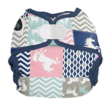 Imagine Baby Products Hook &Amp; Loop Cover, Unicorn Dream, Newborn