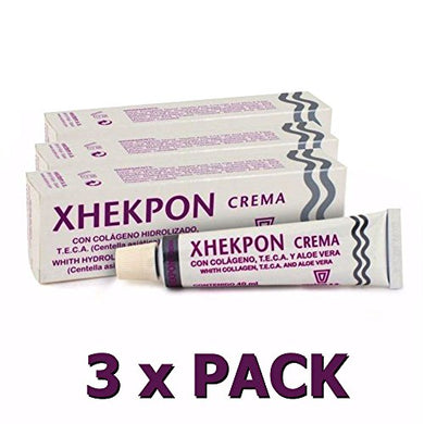 Xhekpon Cream 40Ml Facial Neck And Neckline Collagenum Total 120Ml Care The Skin