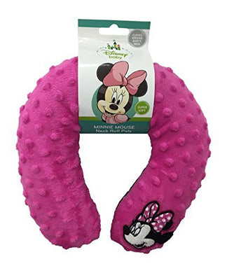 Disney Minnie Mouse Neck Roll Pals With Embroidered Mickey Toy