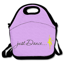 Load image into Gallery viewer, Oery Cool Dance World Design Bento Lunch Bag Portable Cooler Tote