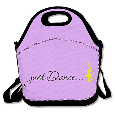 Oery Cool Dance World Design Bento Lunch Bag Portable Cooler Tote