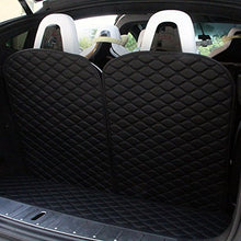 Load image into Gallery viewer, 3Rd Row Back Seat Protector Mat For Tesla Model X 6 Seat And 7 Seat (2 Of Set, Black)