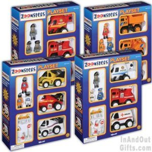 Toysmith Zoomsters Playset Assortment