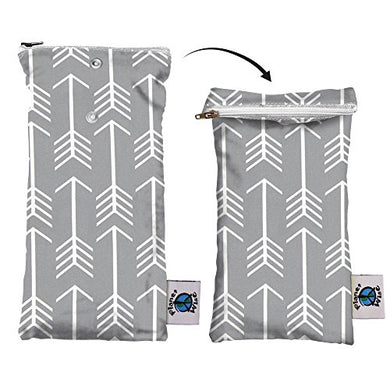 Planet Wise Wipe Pouch, Aim Twill, Made In The Usa