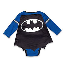 Load image into Gallery viewer, Dc Comics Batman Baby Boys' Bodysuit And Cape Set (0-3 Months)