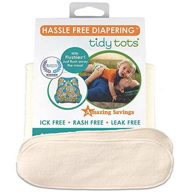 Tidy Tots Diapers Hassle Free 4-Layer Organic Hemp Booster Nb