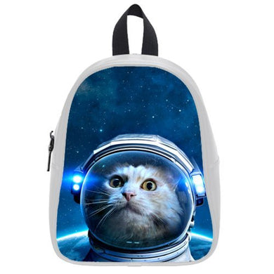 2015 Best-Selling Galaxy Outer Space Hipster Cat Theme Backpack Best-Selling Kid'S School Bag Best Gift For Children