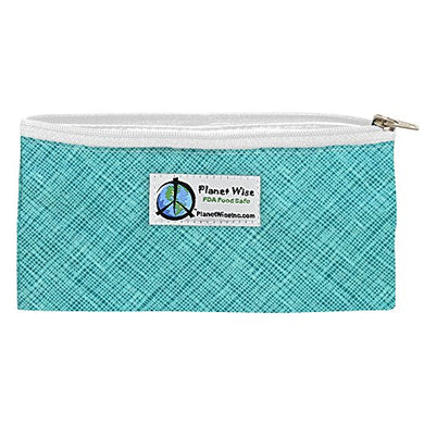 Planet Wise Reusable Zipper Sandwich And Snack Bags, Snack, Drip Drop