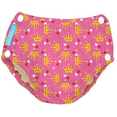 Charlie Banana Extraordinary Training Pants With Snaps Princesse, Large