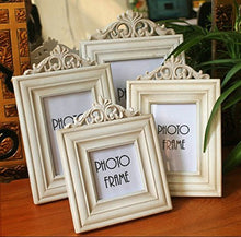 Load image into Gallery viewer, Aimeart Wooden Picture Frame Set, 4-Piece Set Of 4 Various Sizes Vintage White