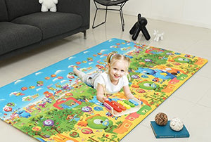 Crawlnroll Eco-Friendly Baby Playmat_Kemy _Large