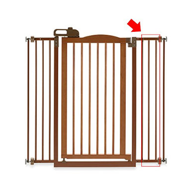 Richell One-Touch Wide Pressure Mounted Pet Gate Ii White