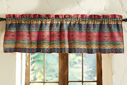 Sun Valley Southwest Valance - Cabin Window Treatments
