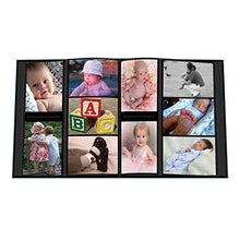 Load image into Gallery viewer, 2 Pioneer Collage Frame Embossed  Baby  Sewn Leatherette Cover Photo Album, 4 X6 , Color Baby Blue + Baby Pink