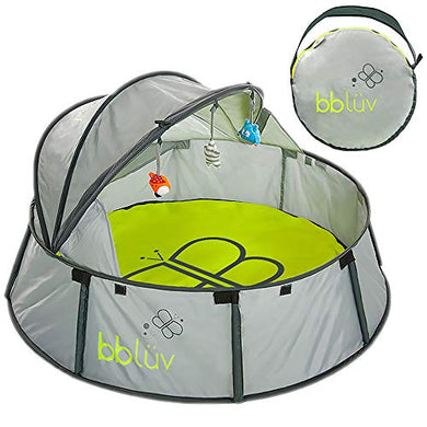 Bblv - Nid - 2-In-1 Travel &Amp; Play Tent - Fun Tent With Uv Protection For Infants And Toddlers