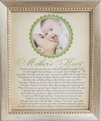 The Grandparent Gift Co. Heart Collection Frame: Mother'S Heart, Gift For New Mom