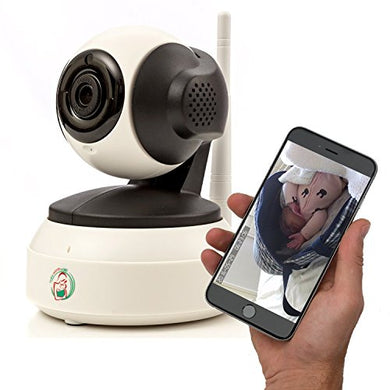 Video Baby Monitor - Nanny Camera With Wifi - Wireless Surveillance Monitors