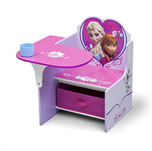 Load image into Gallery viewer, Delta Children Chair Desk With Storage Bin, Disney Frozen