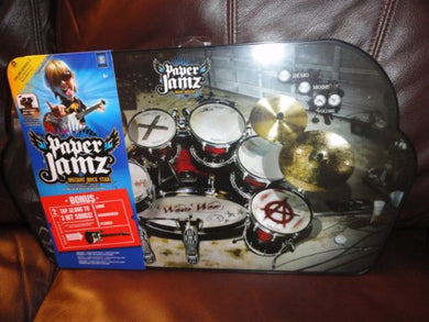 Paper Jamz Instant Rock Star Drum Series 2