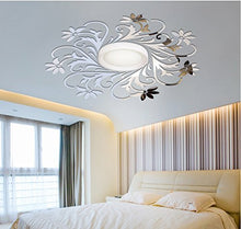 Load image into Gallery viewer, European Mirror Sticker For Ceilling Decoration, Diy Top Ceilling Mirror Wall Sticker , Top Lighting The Ceiling Chandelier Around Decorative Mirror Frame Sticker