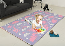 Load image into Gallery viewer, Crawlnroll Eco-Friendly Baby Playmat_City Road(Girl)/Retro _Large