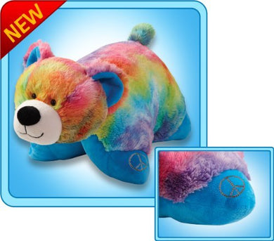 Authentic Pillow Pets Bear Peaceful Large 18 Plush Toy Gift
