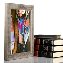 Load image into Gallery viewer, Craig Frames Gesso, Gray Plain Wooden Picture Frame, 11 By 17-Inch