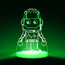 Load image into Gallery viewer, Robot Night Light, Led 12 Colors With Interactive Remote
