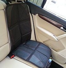 Load image into Gallery viewer, Amc Baby Car Seat Cover Protector Mat With Storage Organizer,