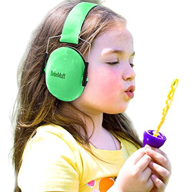 Bebe Muff Hearing Protection - Best Usa Certified Ear Muffs, Jade Green, 2 Years+