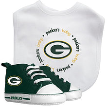 Load image into Gallery viewer, Baby Fanatic Green Bay Packers Bib And Prewalker Set