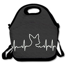 Load image into Gallery viewer, Dog Heartbeat Chihuahua Lunch Box Bag For Kids And Adult,Lunch Tote Lunch Holder With Adjustable Strap For Men Women Boys Girls,This Design For Portable, Oblique Cross,Double Shoulder