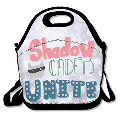 Amurder Ldshadowlady Cadets Unite Insulated Personalized Tote Lunch Food Bag Black